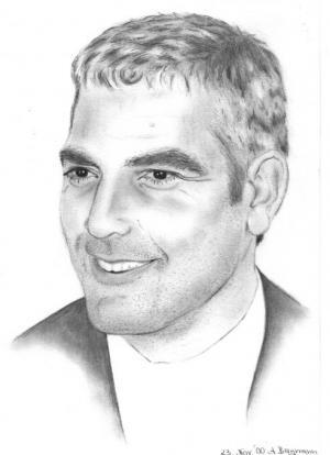 George Clooney - Bleistift - 2000