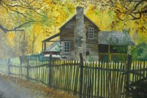 Herbst - Ölbild - 1999