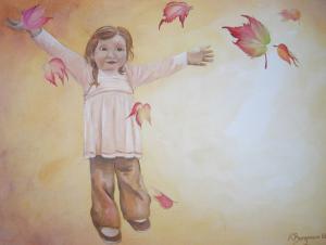 Herbsttanz - Ölbild - 2006