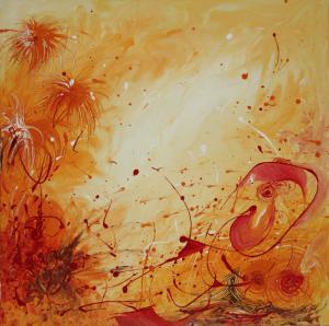 Untitled - Ölbild - 2010