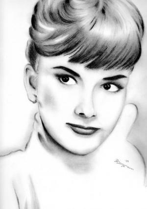 Audrey Hepburn - Bleistift - 2007