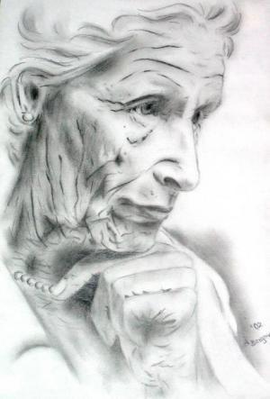 Vergänglichkeit - Bleistift - 2002