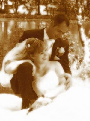 Hochzeit meiner besten Freundin - Juli 2007