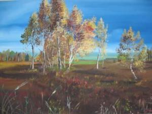 Heide - Ölbild - 2002