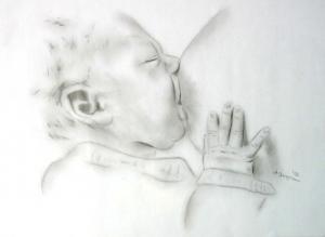 Baby - Bleistift - 2002