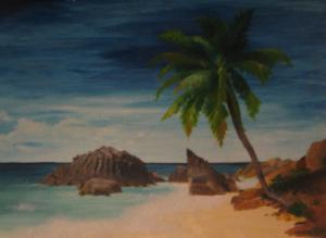 Seychellen - Ölbild - 2000