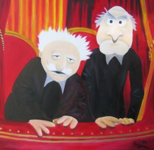 Stadler & Waldorf - Ölbild - 2005