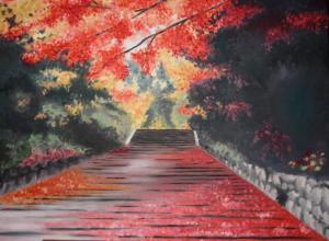 Herbstgenuss - Ölbild - 2006