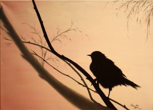 Freiheit - Ölbild - 2009