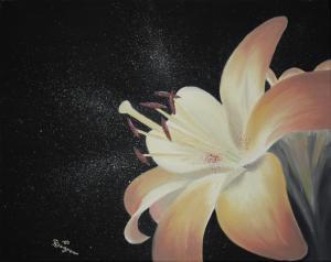 Blütenzauber - Ölbild - 2009