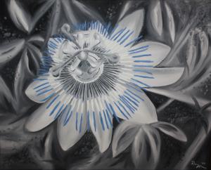 Passionsblume - Ölbild - 2009