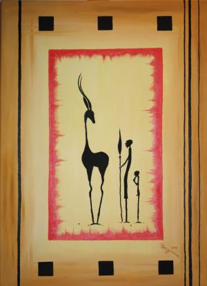 Afrika I - Ölbild - 2010
