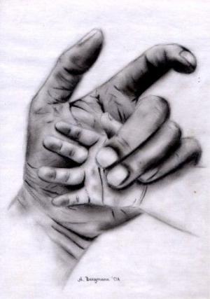 In ewiger Erinnerung - Bleistift - 2001