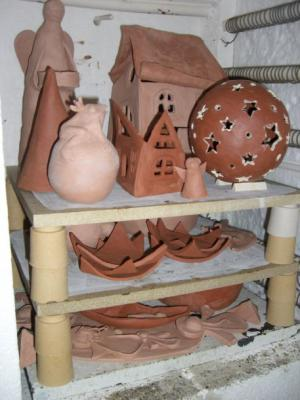 Mein erster Schrühbrand - Keramik - 2006